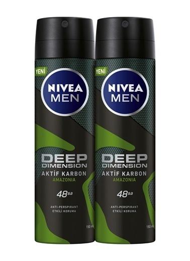 Nivea Deep Dimension Amazonia Sprey x2 Renkli